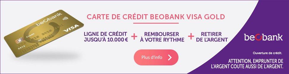 carte credit beobank