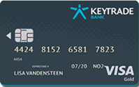 Keytrade Bank Visa