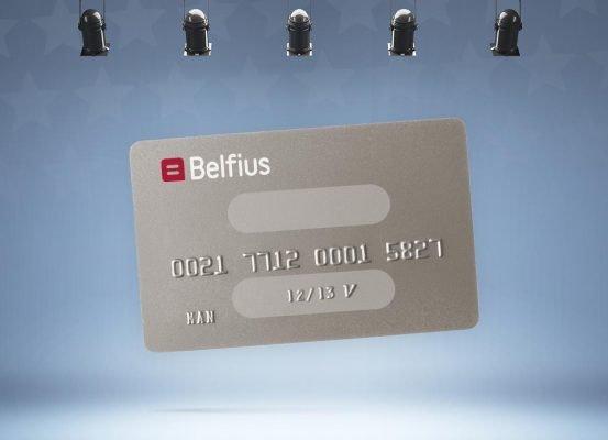Belfius MasterCard prepaid