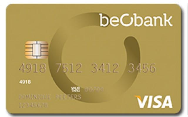 beobank visa gold