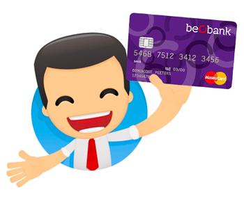 carte visa beobank belgique