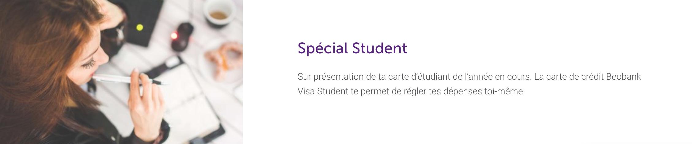 carte visa student
