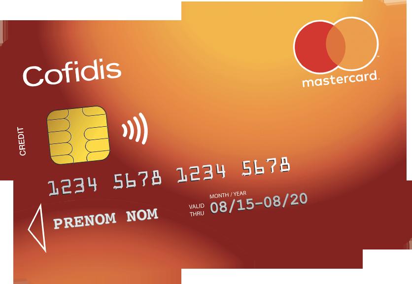 carte de crédit cofidis