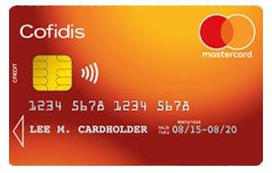 carte mastercard cofidis