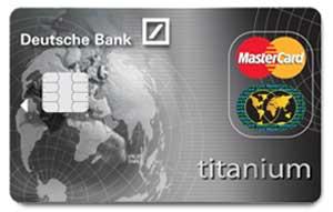 Deutshe Bank carte de crédit gratuite belgique
