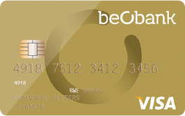 carte bancaire visa gold