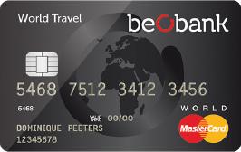 carte bancaire world travel