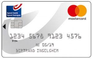 MasterCard bpost banque