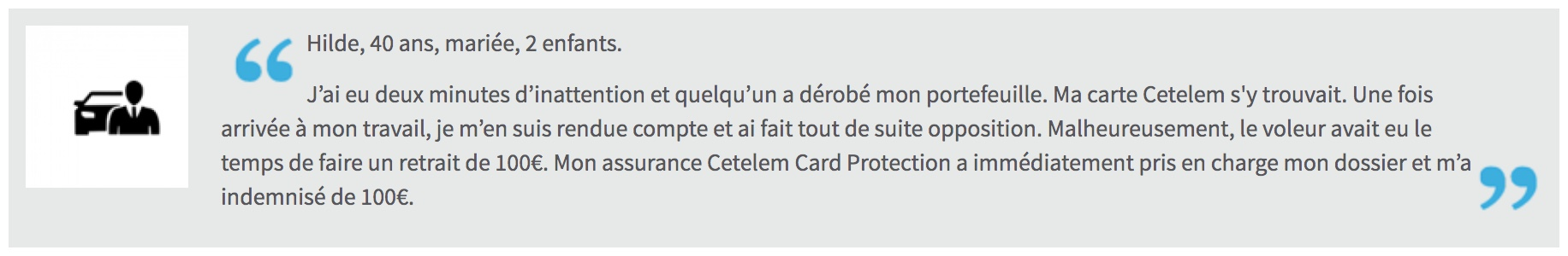 cetelem card protection